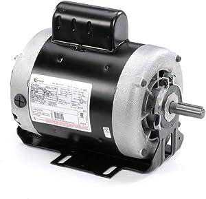 1 hp 1725 RPM 56 Frame 115/208-230V 60 hz Belt Drive Cap Start Blower Motor Century # C524