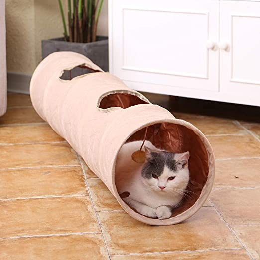Túneles Para Gatos Artículos Para Gatos Tubos Y Túneles Para Animales Pequeños Pet Cat Toys Big