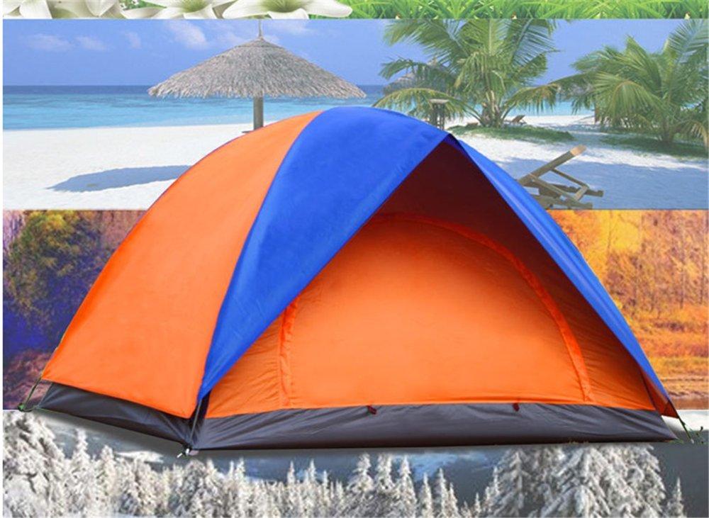 Kaxima Outdoor-Freizeit-Tourismus Doppel offene Zelt Camping Zelt Hand