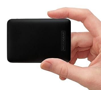 MOJOGEAR Mini 10.000 mAH Powerbank - Kompakte Externer Akku Handy Ladegerät Power Bank Pack - Hohe Kapazität - 3 USB Ausgänge