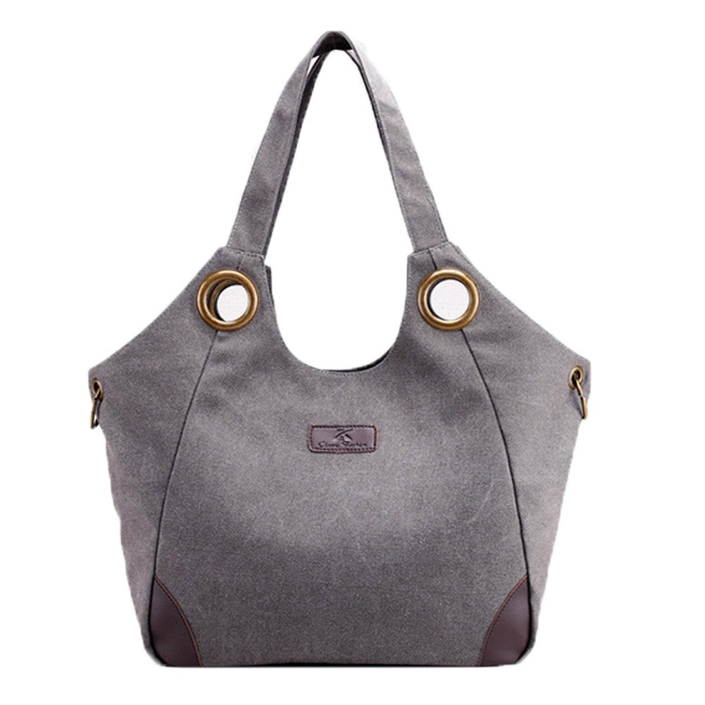 Owarder hobo handbag casual canvas bag shoulder bag tote bag satchel crossbody bag organizer