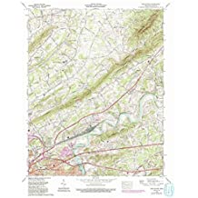 John Sevier TN topo map, 1:24000 scale, 7.5 X 7.5 Minute, Historical, 1978, updated 1993, 27.5 x 22 IN