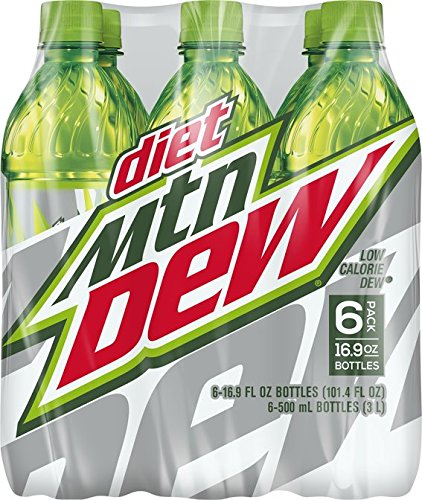 Mountain Dew Diet Drink, 6 Count