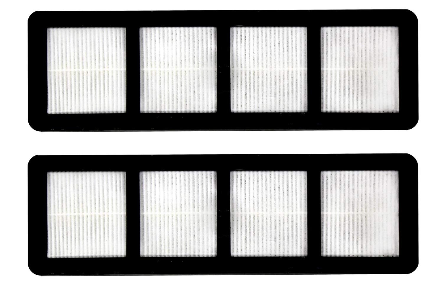 Green Label 2 Pack HEPA Style Filter Replacement for Eureka EF-6 (compares to 83091-1)