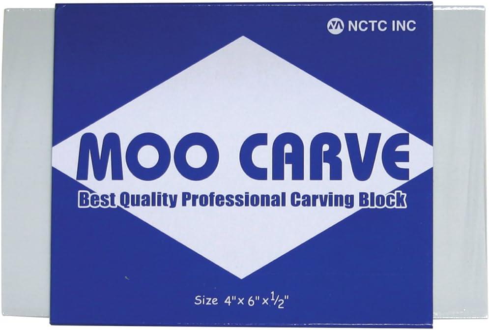 Martin Universal Moo blocco per incisione intaglio 10,2 x 15,2/x 1,3 cm vari colori