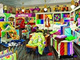 jigsaw puzzles sewing - Sewing Store Companions 500 Pc Jigsaw Puzzle by SunsOut