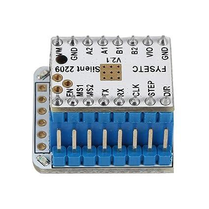 Aibecy Impresora 3D Partes TMC2209 v2.0 + Kit de prueba TMC2209 v2 ...