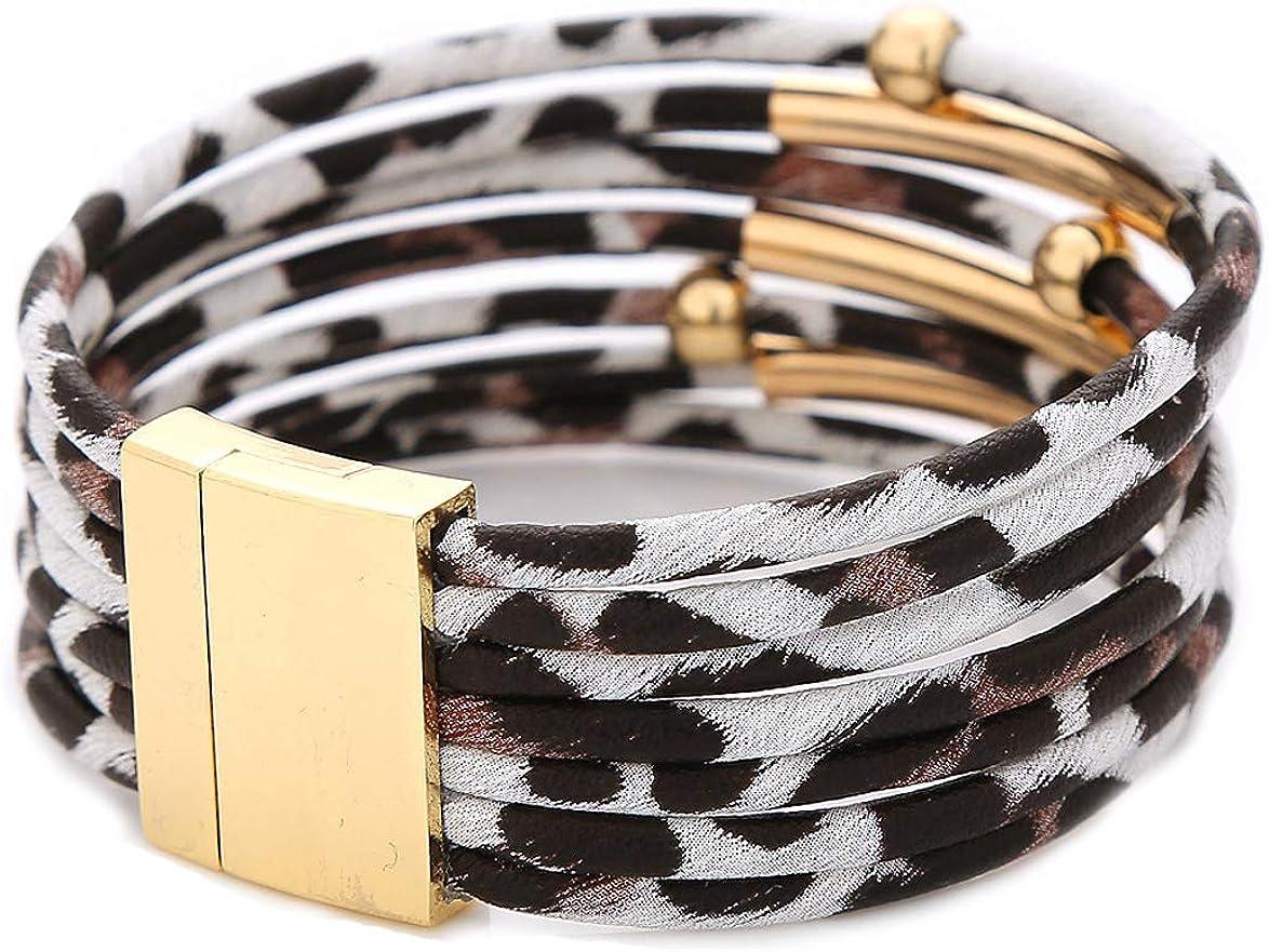 LEYSTARE Leopard Bracelets...