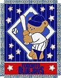 "MLB Toronto Blue Jays Original Woven Jacquard Baby Throw, 36"" x 46"""