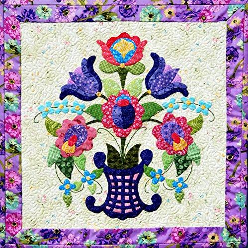 - Happy Stash Quilts Spring Bouquet Quilt Pattern