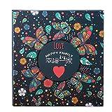 / 6 inch 500/800 Zhang baby growth memorial album / family album album / interstitial plastic album book (36 33cm) ( Style : A1 )