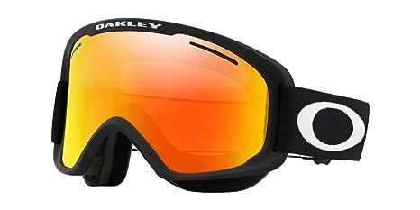 Oakley Maschera da Sci O2 XM OO 7066 MATTE BLACK FIRE IRIDIUM PERSIMMON  LENS unisex 4951d60f5d3