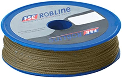 Red - 0.8Mm FSE Robline Waxed Tackle Yarn