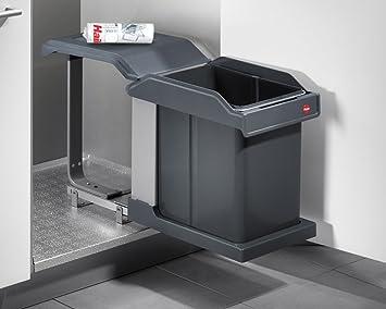 Hailo Abfallsammler Solo 20 Liter Mülleimer Einbau Abfalleimer ...