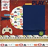 Let's Play - Premade Scrapbook Page