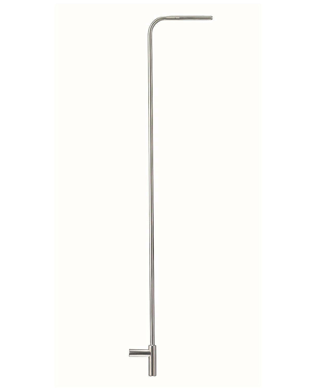 Testo SE /& Co.KGaA 0635 2345 Staurohr Edelstahl L/änge 1000 mm