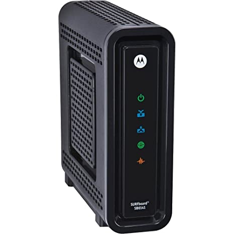 Motorola SB6141 (Comcast, TWC, Cox Version) - DOCSIS 3.0 Cable Modem [Bulk Packaging]