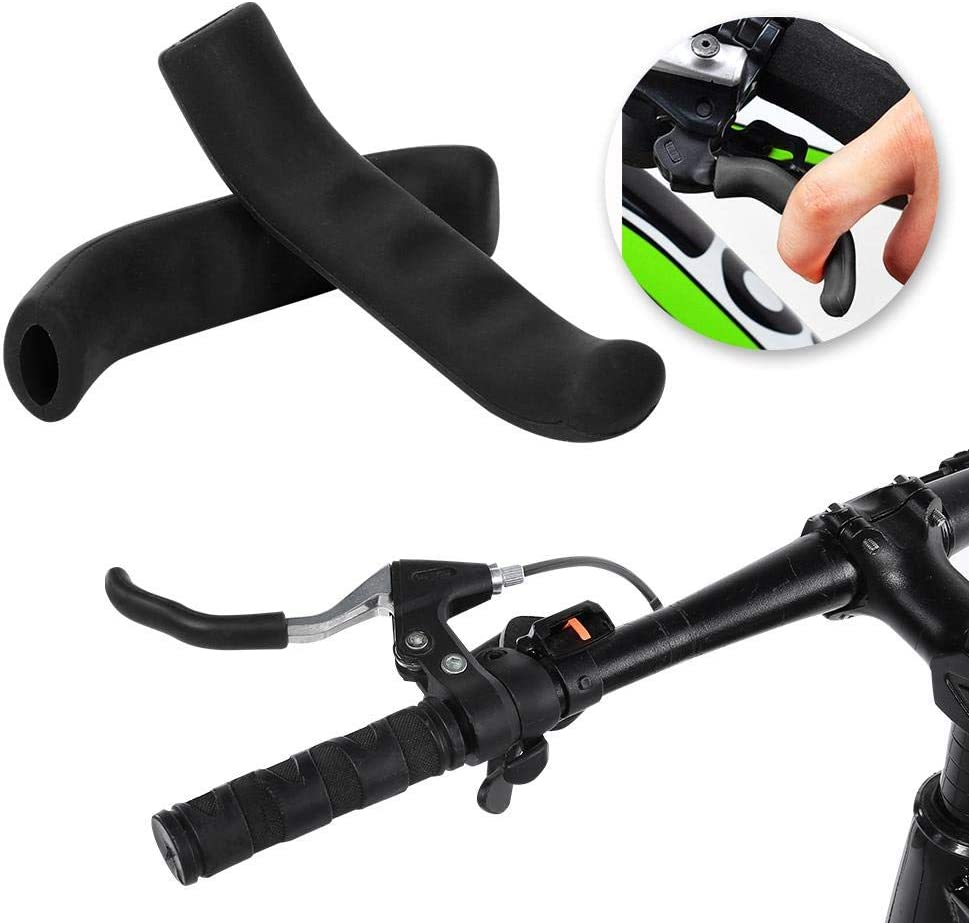 Soft Brake Fixed Lever Grips Protector Covers Mountain Bike Bicycle MTB BMX Hot