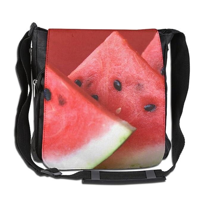 5a154d360bb3 Amazon.com  NYYSBU Crossbody Messenger Bag Fruit Red Watermelon Shoulder  Tote Sling Postman Bags One Size  Clothing