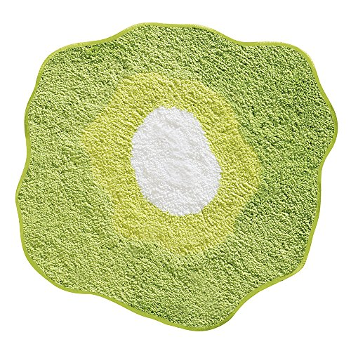 InterDesign Design Poppy Rug, Green, 26 Inch