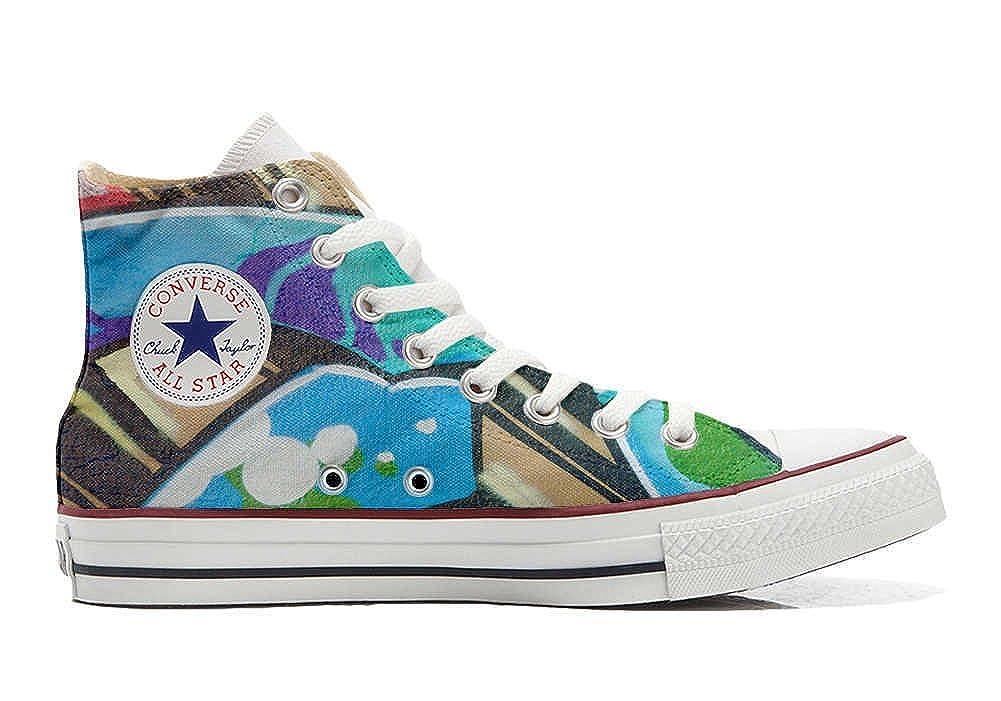 Converse All Star personalisierte Schuhe Schuhe Schuhe (Handwerk Produkt) mit Graffiti 274233