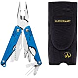 Leatherman LEAP Stainless Steel Kids Multi Tool With Nylon Sheath (Blue)