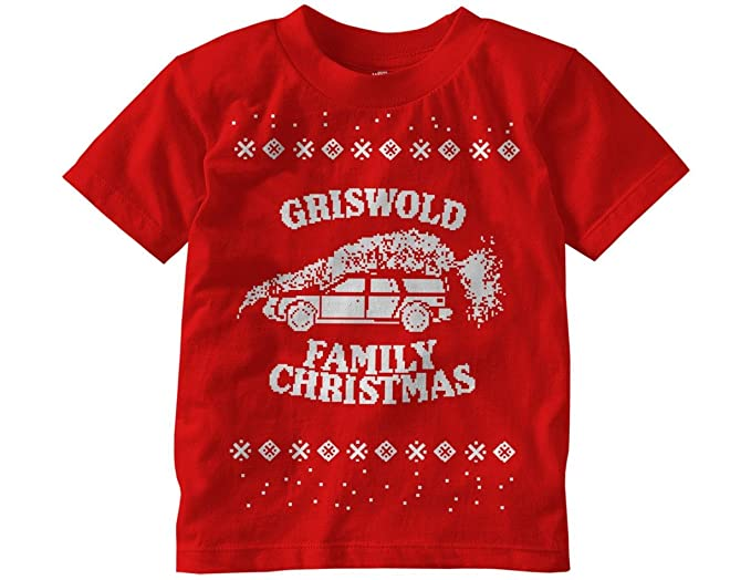 ripple junction national lampoons christmas vacation griswold family christmas faux sweater toddler t shirt 4t