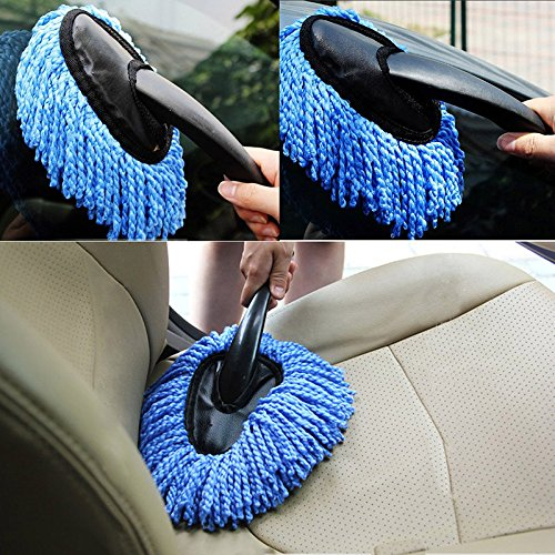 - Sedeta Car Duster Brush Microfiber Cleaner Washing Home Cleaning Wash Brusher Dusting Tool for Window glass office sofa