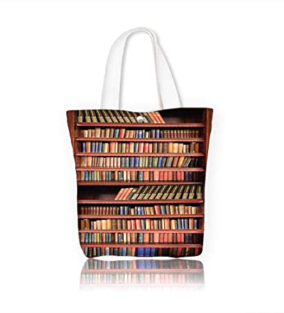Amazon Com Canvas Shoulder Hand Bag Livres Anciens Sur Une