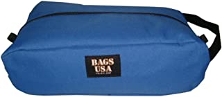 product image for BAGS USA Shoe Bag,Golf Shoe Bag Durable Stain Resistant,fits up to Size 13 Made in U.s.a. (Blue)