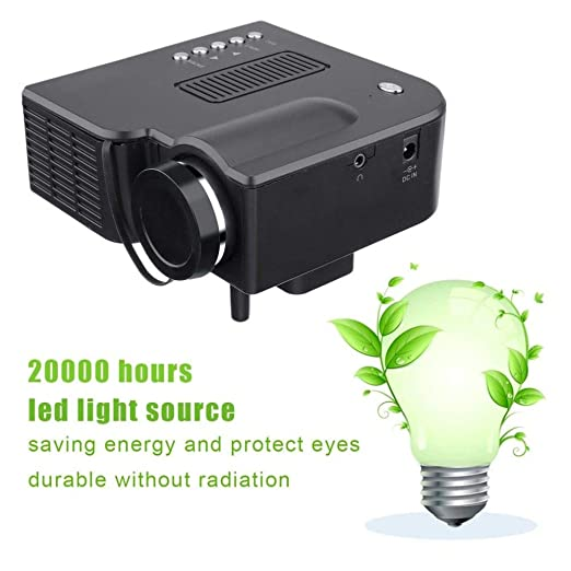 Covan_CN Proyector Mini Profesional, Full HD1080P Teatro en ...