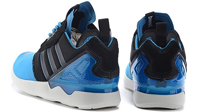 adidas ZX 8000 Boost Hommes Sneaker Bleu B26371, Taille:42 2/3