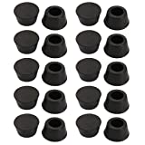 uxcell 20pcs Desk Chair Round Rubber Leg Cap