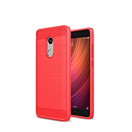 XiaoMi RedMi Note 4X Funda - Carbon fiber Soft Silicone Case ...