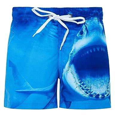 1f67ecf29a Fanient Boys 3D Printed Funny Swim Trunks Quick Dry Beachwear Sports  Running Swim Board Shorts 4-12Y: Amazon.co.uk: Clothing