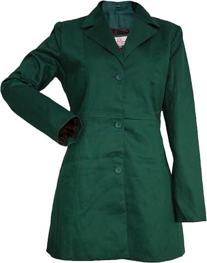 German Wear, Damen Mantel Trenchcoat aus Baumwolle in der 6X Farben