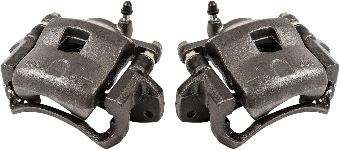 FRONT Premium Grade OE Semi-Loaded Remanufactured Caliper Assembly Pair Set CCK01491 2