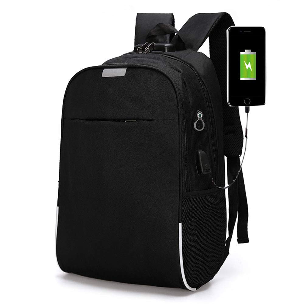 3c8917ad99fb Amazon.com: Laptop Waterproof Anti-Theft Backpack with USB Charging ...