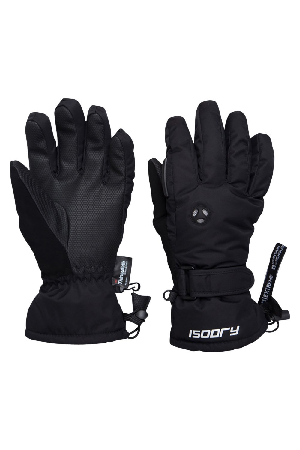 Extra small ladies leather gloves uk - Mountain Warehouse Extreme Waterproof Womens Ski Gloves