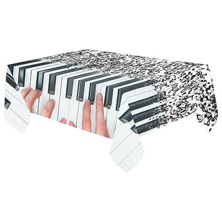 your-fantasia manos tocando el piano con notas musicales funda ...