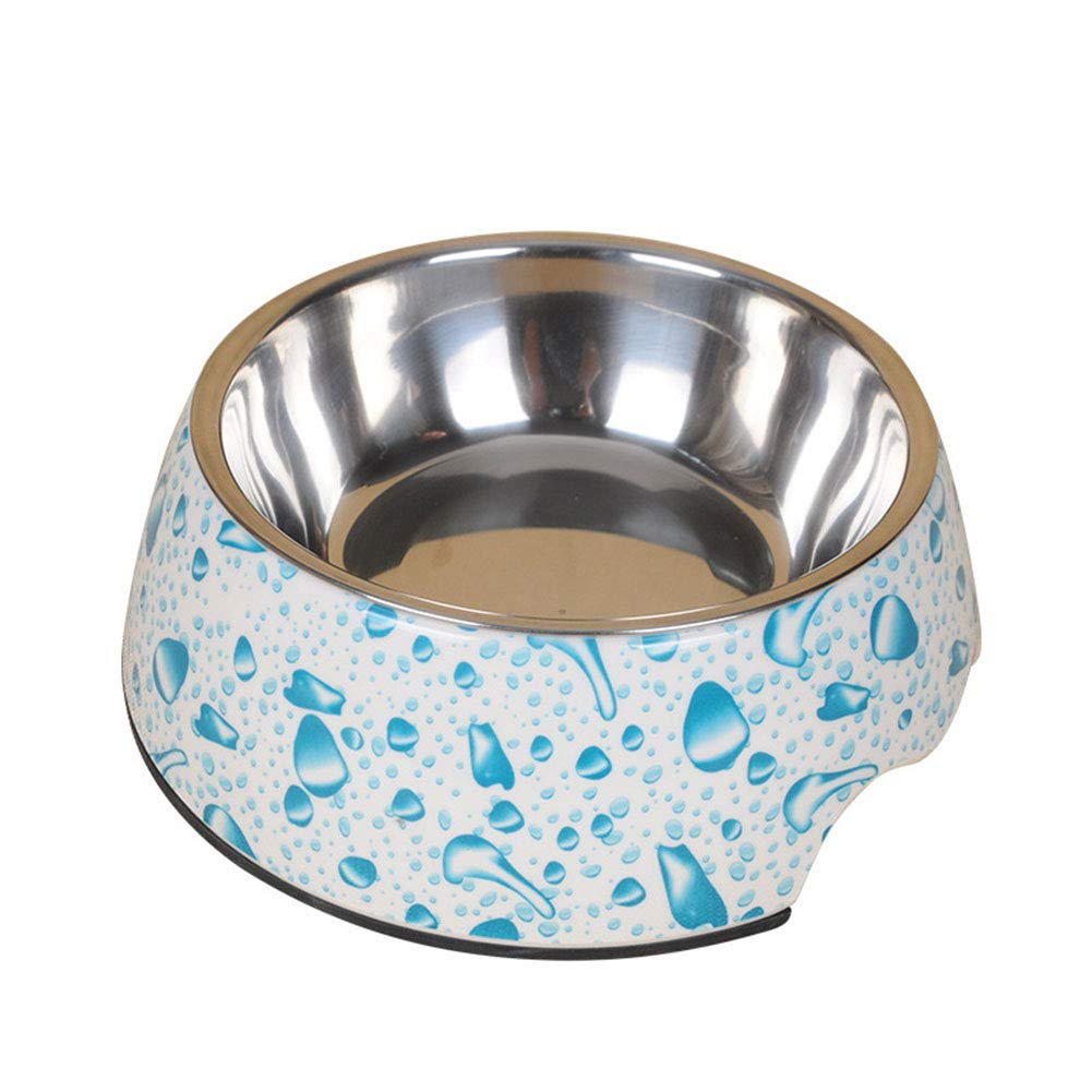 2 Large 2 Large Stainless Steel Dog Feeders Pet Feeding Bowl Multiple Sizes Cat Food Water Bowl Water Food Dish Non-Slip