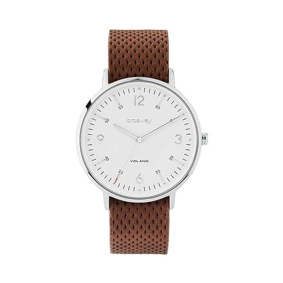 La hora del reloj Sólo WVO02 marrón hombres Brosway