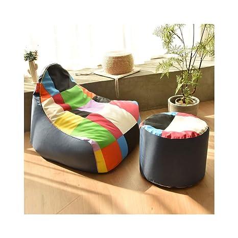 TongN-Sillones Bean Bag Lazy Couch Tatami Cómodo Sofá de una ...