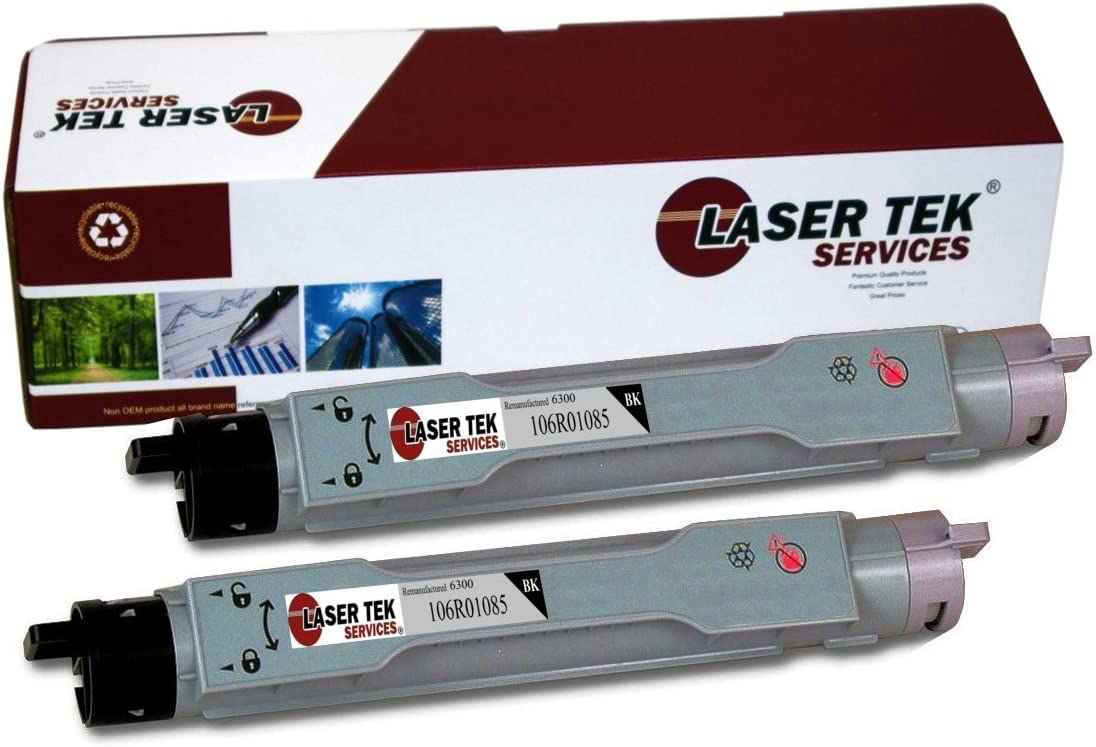 Laser Tek Services Compatible Phaser 6300 Toner Cartridge Replacement for The Xerox 106R01082. Cyan, 1-Pack