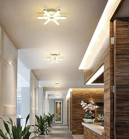 ☆ Luz de techo pequeña LED Ø31cm Luz cálida 3000K 12W, Luz ...