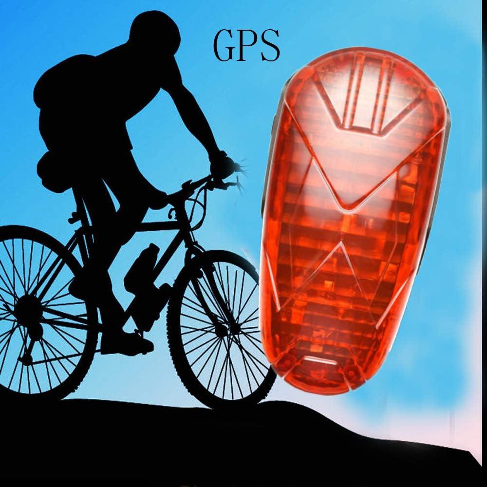 TKSTAR, GPS Rastreador de bicicleta, oculta en tiempo real GPS Tracker, utilizado para LED de bicicleta luz trasera: Amazon.es: Electrónica