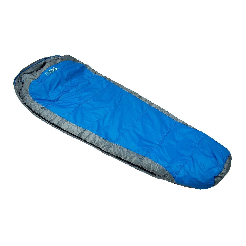 Osage River Zero Degree Sleeping Bag - Blue/Grey [並行輸入品] B07148WP66
