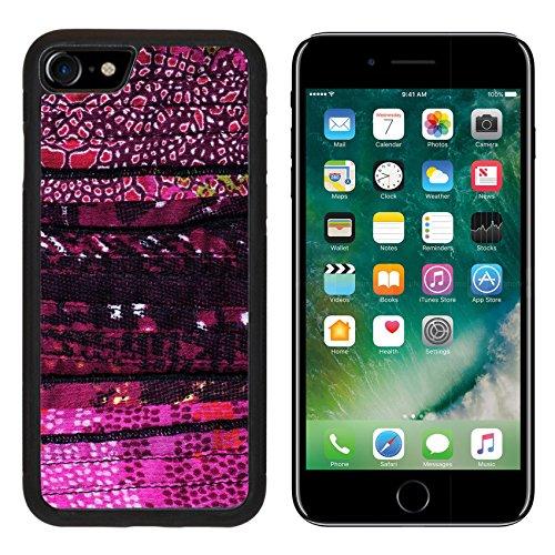 MSD Premium Apple iPhone 7 iPhone7 Aluminum Backplate Bumper Snap Case cut manually woven textile fabric IMAGE 25682217 (Woven Fabric Aluminum)