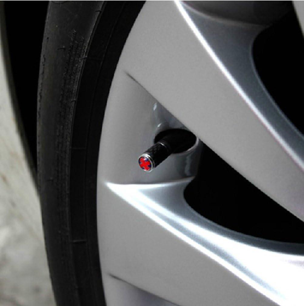 Harvard kid DIY Car Parts Carbon Fiber Metal Wheel Tires Air Valve Stems Caps for VW Volkswagen All Model GTI