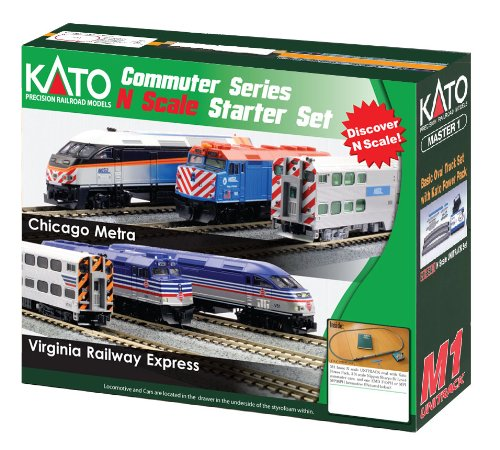 Kato USA Model Train Products N F40PH and Gallery Bi-Level, used for sale  Delivered anywhere in Canada